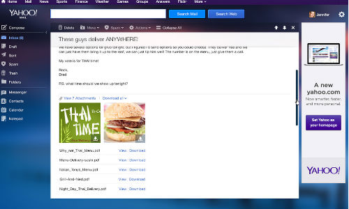 Yahoo Mail Gets Revamped With New Features On Its 16th Birthday
