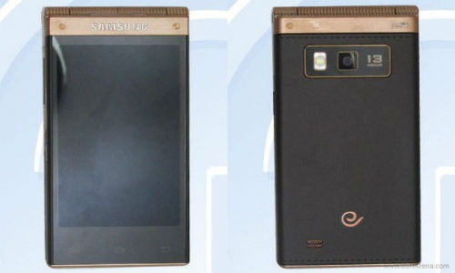 Samsung SM-W2014: High-End Clamshell Smartphone Leaks