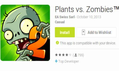 Plants vs. Zombies 2 Finally Released For Android Devices