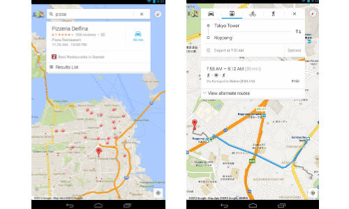 Google Maps Updated for Android Devices With Detailed Notifications
