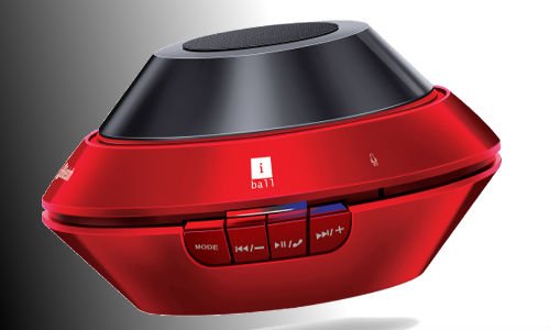 iBall UFO3 Launched: A Bluetooth Enabled Portable Speakers with Mic
