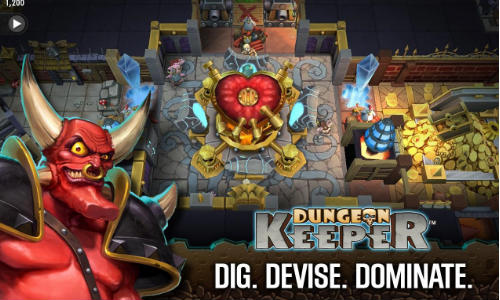 Dungeon Keeper Now Available For Android Devices on Select Market