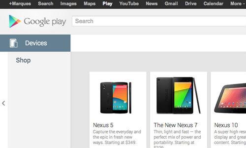 Google Play Store Accidentally Lists Nexus 5 Price Ahead of Its Launch