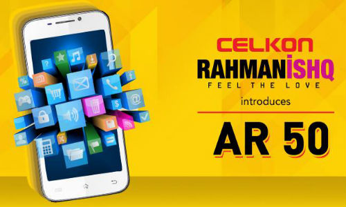 Celkon AR50 RahmanIshq Android Phablet Launched At Rs 8,499