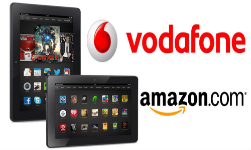 Vodafone Partners With Amazon to Power The New Kindle Fire HDX
