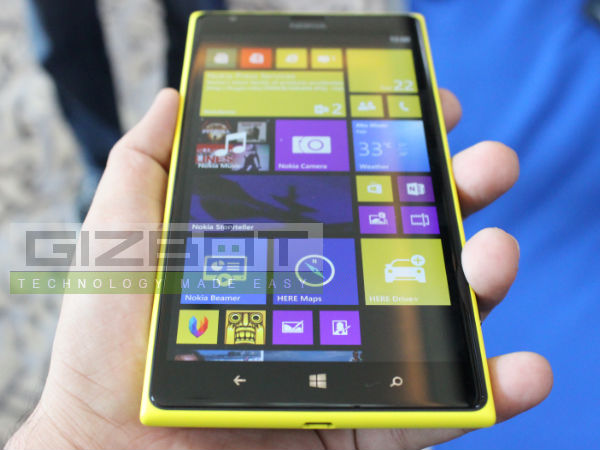 Nokia Lumia 1520 Hands On: First Look