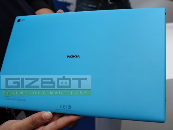 Nokia Lumia 2520 Hands on Review: First look