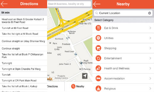 MapmyIndia Maps App For iOS Devices Now Available For Free Download