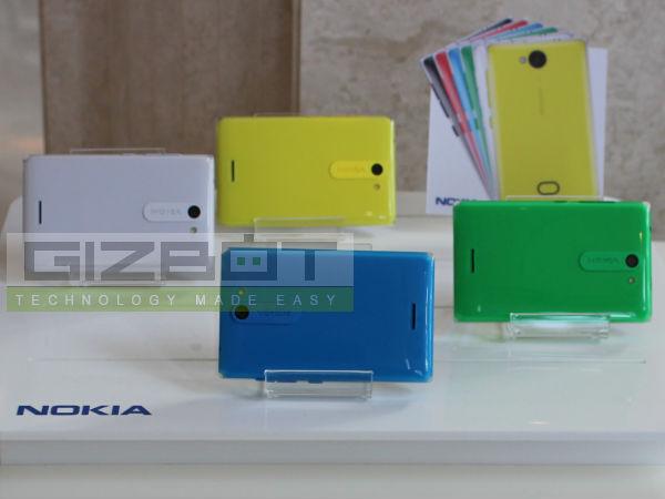 Nokia Asha 503, 502 and 500 Hands on: First look - Gizbot News  Nokia Asha 503,...