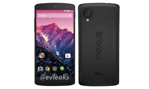 Nexus 5 White Variant Images Leaked: Might Be Launched on November 1st