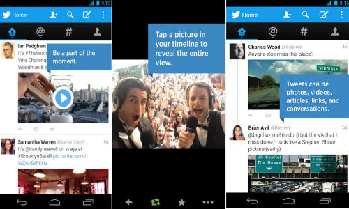 Twitter App Updated for Android and iOS Devices