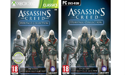 UBISOFT Announces Assassin's Creed Heritage Collection in India