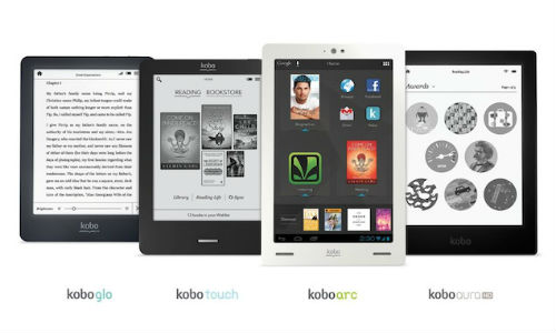 Kobo Launches New Lineup of ebook Readers in India