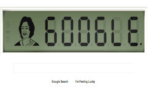 Google Celebrates Shakuntala Devi's 84th Birthday With a Doodle