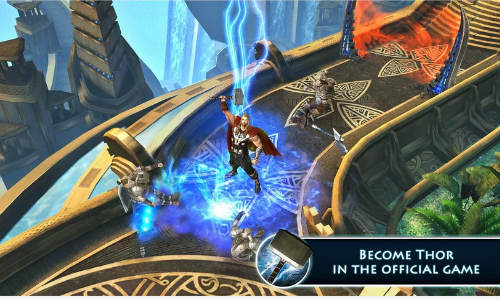 Thor: The Dark World Game For Android and iOS Devices Launched
