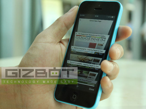 Apple iPhone 5C Hands On And First Impressions