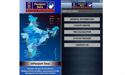 MEA mPassportSeva App Launched For iOS and Windows Phone Devices