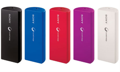 Sony CP-V3 USB Portable Charger Launched in India At Rs 1590