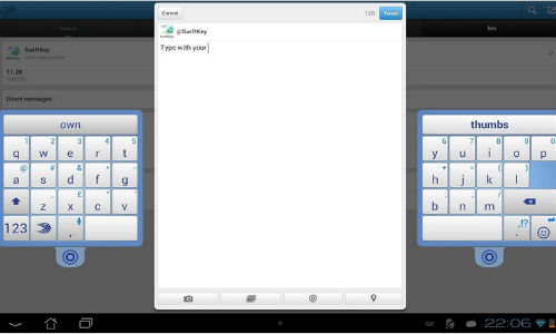 SwiftKey Update for Android Released with Multi-Layout and More