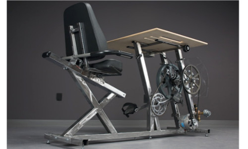 Now Burn Calories And Charge Your Laptop Using Pedal Power