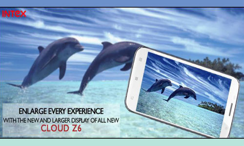 Intex Cloud Z6 Coming Soon With 5 Inch Display