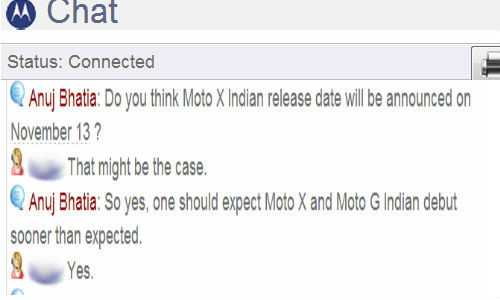 Exclusive: Moto X To Launch Along Moto G on November 13