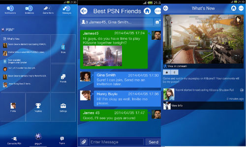 Sony PlayStation 4 Companion App for iOS and Android Released