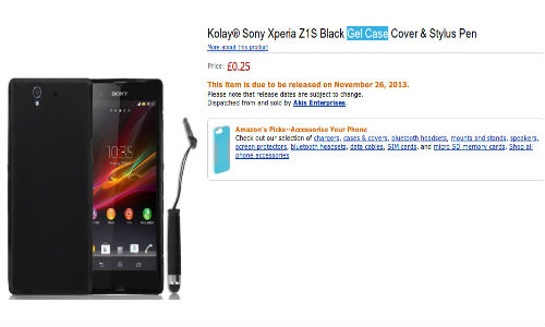Sony Xperia Z1S Cases From Kolay Hint at November 26 Launch