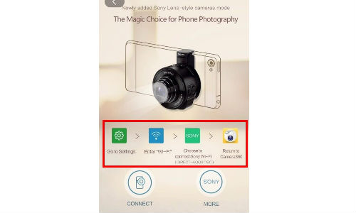 Camera360 for iPhone Finally Gets Updated to Support Sony QX Camera