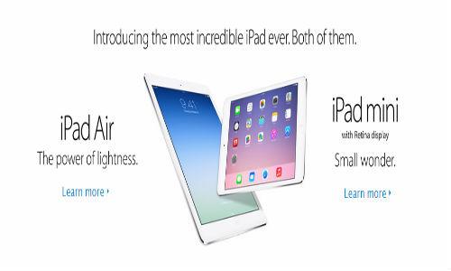 iPad Air and iPad Mini With Retina Display Listed on Apple India Site