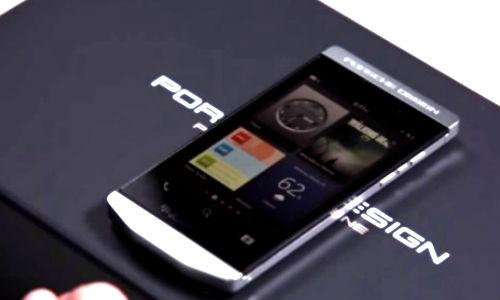 BlackBerry Launches Porsche Design P'9982 All Touch Luxury Smartphone