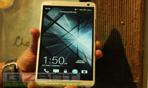 HTC One Max Launched At Rs 56,490