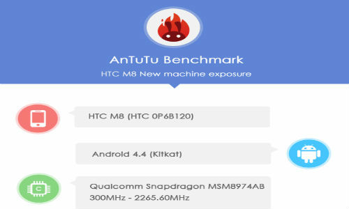 HTC M8 Specs Revealed in Latest AnTuTu Benchmark Results