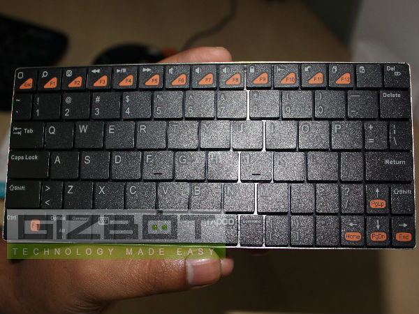 Rapoo BT Ultra-slim Keyboard for iPad E6300: Review