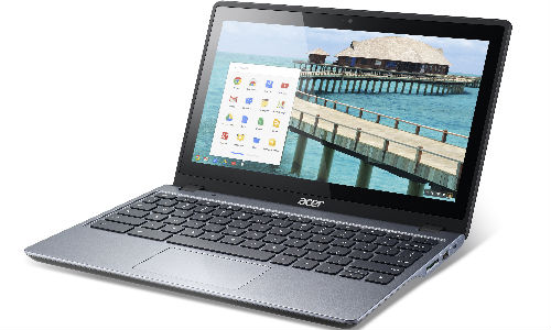 Acer C720P: Affordable Touchscreen Chromebook Launched