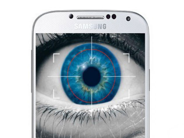 Samsung Galaxy S5 To Have an Eye-Scanning sensor