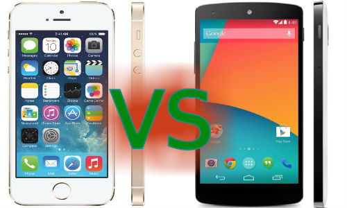 iPhone 5S vs Nexus 5: Will You Ditch Apple for the New Android?
