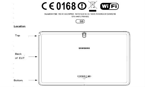 Samsung Galaxy Note 12.2 Non-LTE Tablet Variant Spotted at FCC