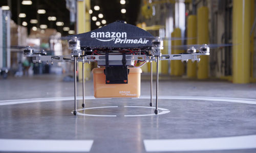 Amazon Prime Air: Octocopters Unveiled for Delivery within 30 minutes
