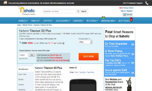 Karbonn Titanium S5 Plus: New Quad Core Smartphone Spotted Online