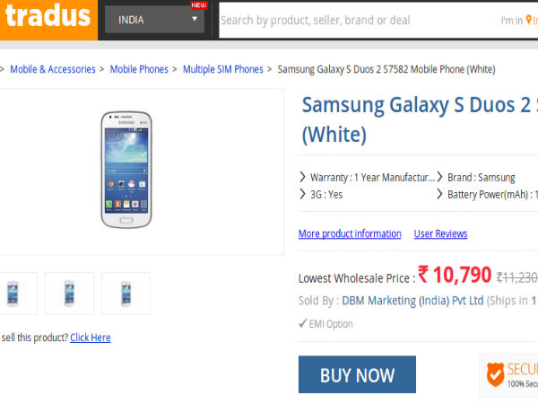 Price At Rs 10,790