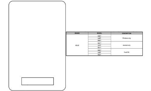 Asus Tablet FCC Filings Leaks: 9 Variants Coming in CES 2014