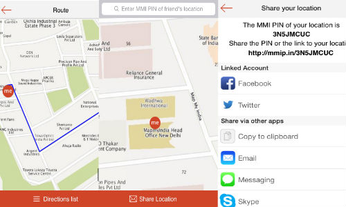 MapmyIndia ReachMe App With Real-Time Location Sharing App Launched