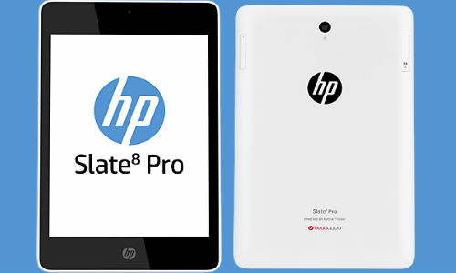 HP Slate7 Plus and Extreme, Slate8 Pro and Slate10 HD Tablets Launched