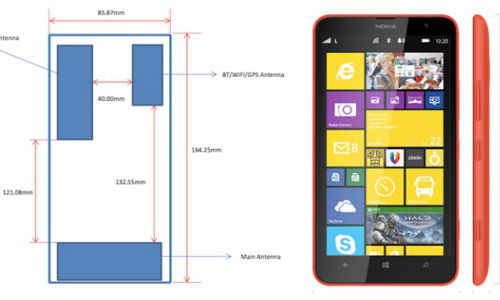 Nokia Lumia 1320 Spotted in FCC Database, Hints at Global LTE Variant