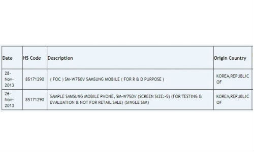 Samsung SM-W750V: Windows Phone 8 Smartphone to Launch in 2014