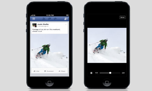 Facebook Auto-Play Video Feature For Mobile Site Rolls Out