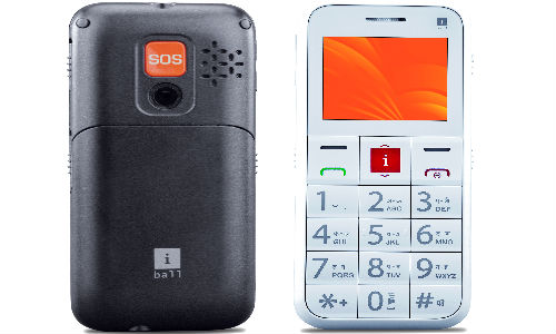 iBall Aasaan2 Feature Phone Launched for Senior Citizens at Rs 2,990