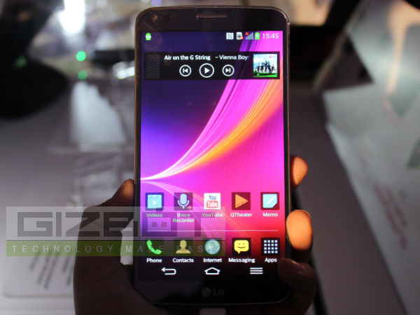 LG G Flex Hands On Review: First Impression