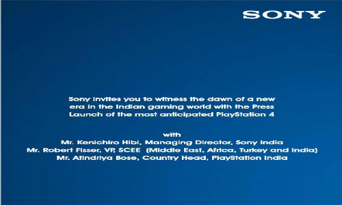 Sony To Launch PlayStation 4 in India on December 18